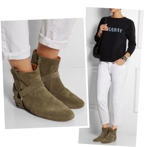 •Isabel Marant 'Ralf' suede boho boots•